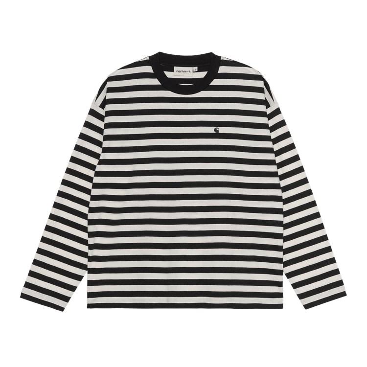 W' L/S Scotty T-Shirt Black / Wax