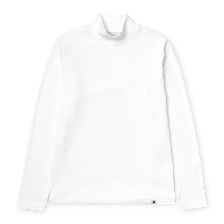 Carhartt WIP W' L/S Seri T-Shirt White
