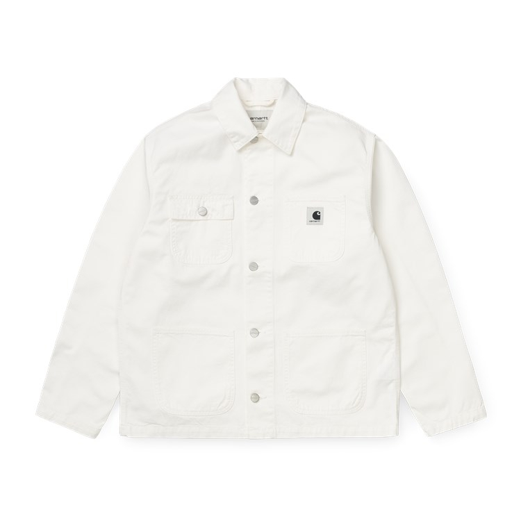 Carhartt WIP W' Michigan Coat Off-White