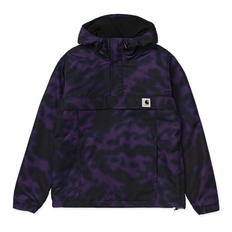 Carhartt WIP W' Nimbus Pullover (Winter) Camo Blur Purple