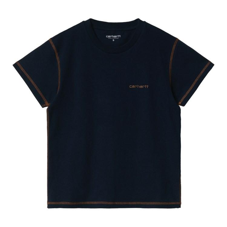 W' S/S Albany T-Shirt Astro / Hamilton Brown