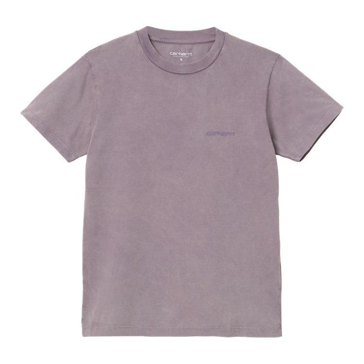 W' S/S Mosby Script T-Shirt Provence