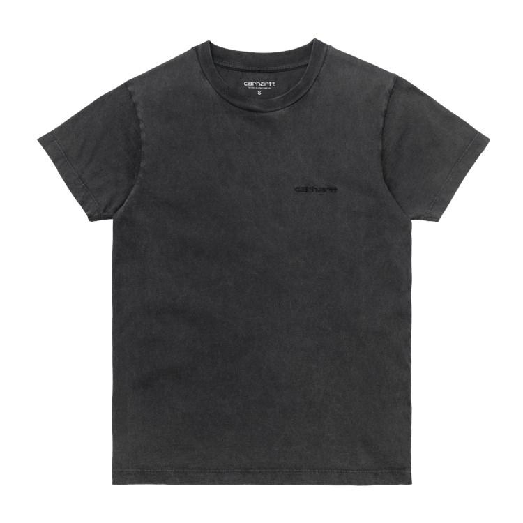 Carhartt WIP W' S/S Mosby Script T-Shirt Black