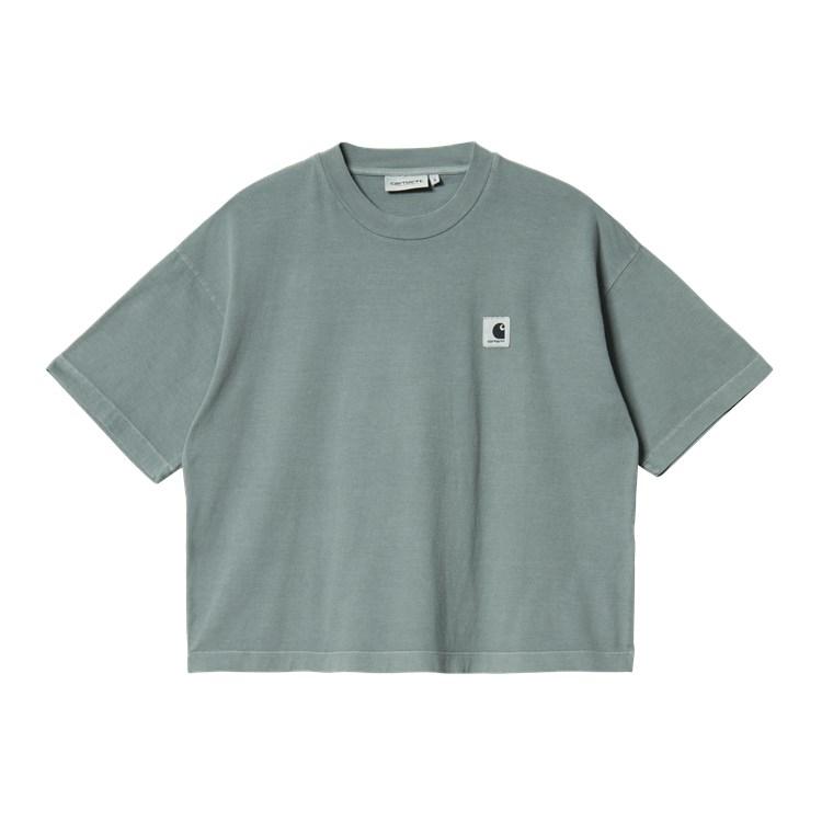 W' S/S Nelson T-Shirt Eucalyptus