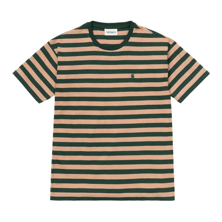 W' S/S Scotty T-Shirt Sediment / Bottle Green