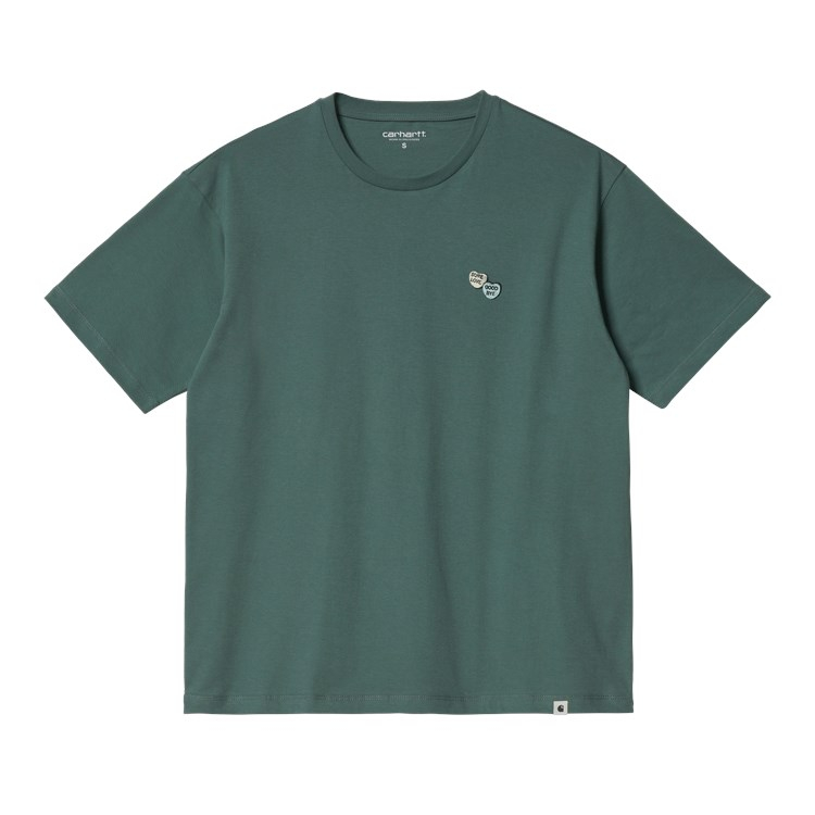 W' S/S Sugarhearts T-Shirt Eucalyptus