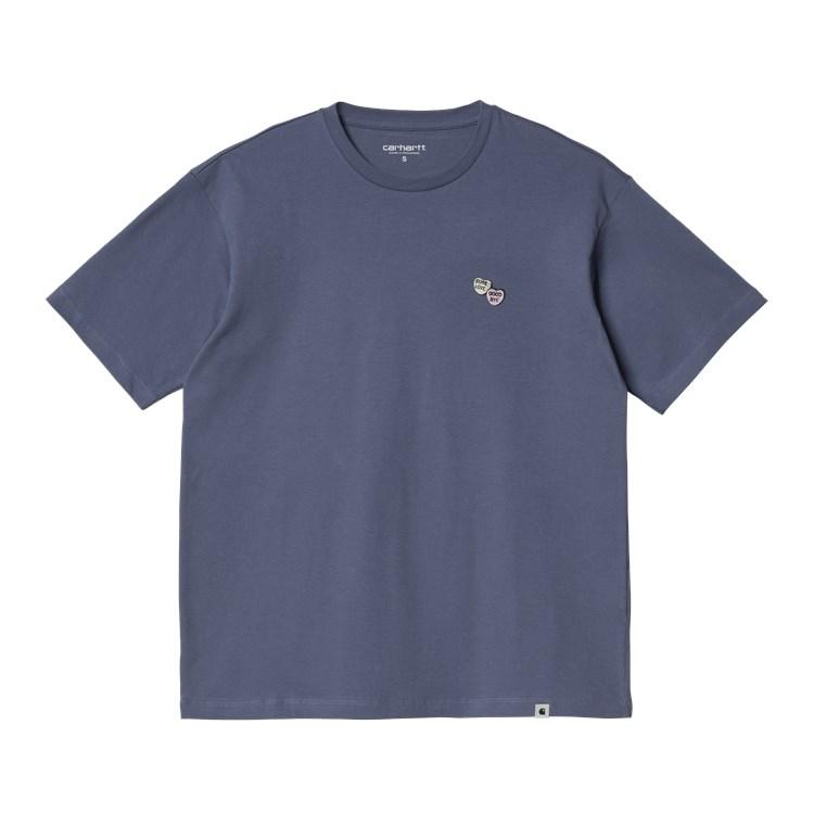 W' S/S Sugarhearts T-Shirt Cold Viola