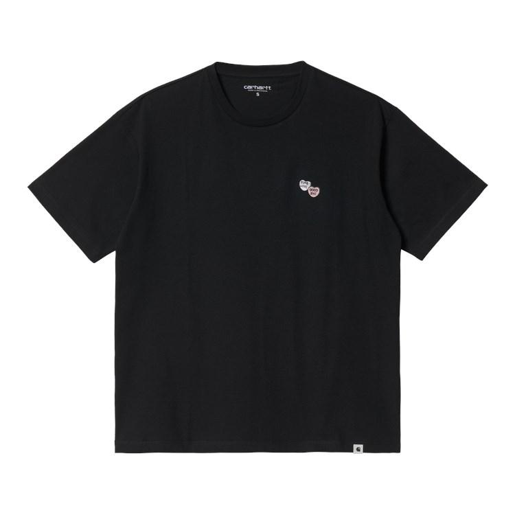 W' S/S Sugarhearts T-Shirt Black