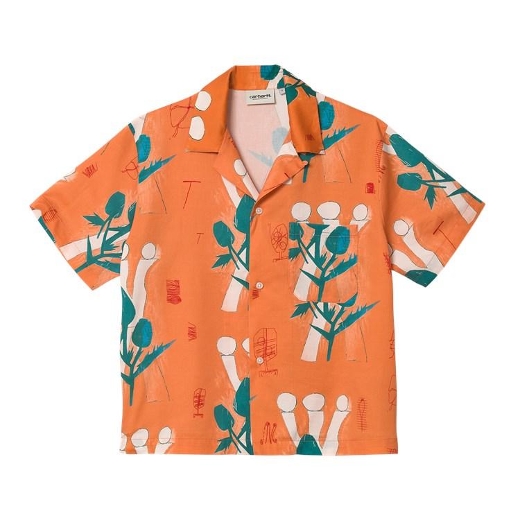 W' S/S Tom Król Flowers Shirt