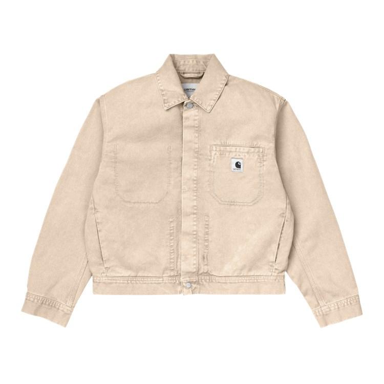 Carhartt WIP W' Sonora Jacket Dusty H Brown Worn Wash