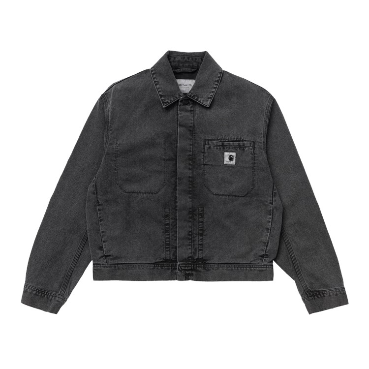 Carhartt WIP W' Sonora Jacket Black Worn Wash