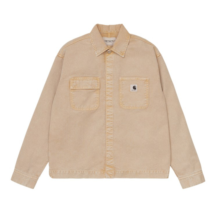 Carhartt WIP W' Sonora Shirt Jac Dusty H Brown Worn Washed