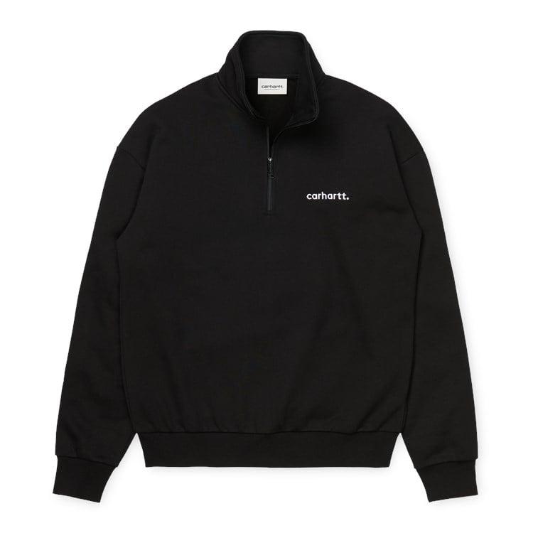 Carhartt WIP W' Typeface Highneck Sweat Black